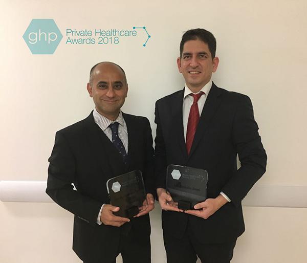 Mr Haresh Devalia & Mr Mohsin Dani win the award of best Oncoplastic and Aesthetic Breast Surgeons, England.